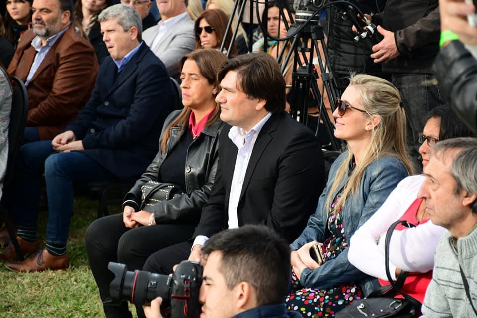 Kubar, Sardella, Macri y Vidal, en la obra mas grande de La Plata